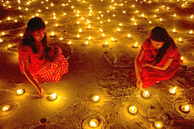 5 Quirky And Simple Ideas For Kids Diwali Party