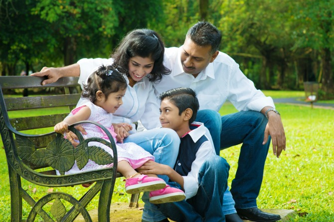 Practice good manners at home
