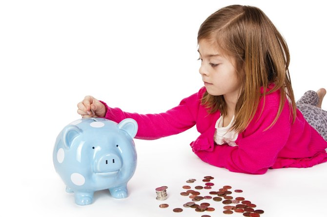 Saving is a skill kids must learn since money is a limited resource