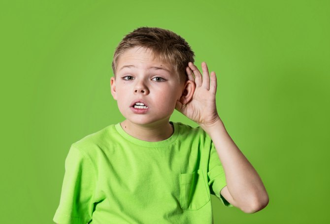 Let children learn by using different senses