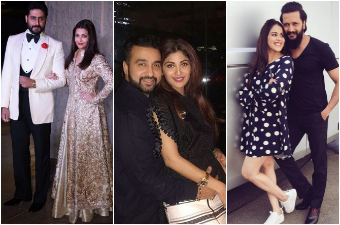 7 couples who express their love for each other publicly