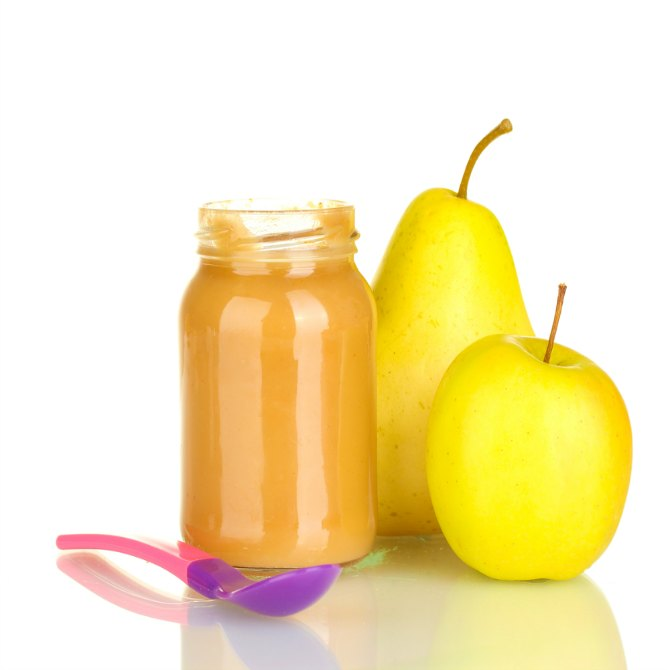 Pear and peru (guava) smoothie