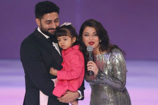 Despite their busy schedules, they make sure they are with Aaradhya whenever she needs them