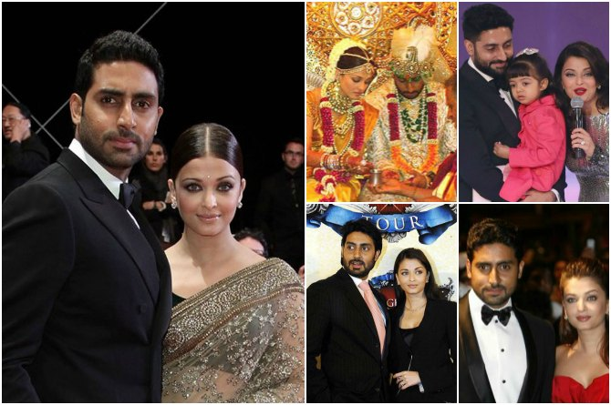 9 pictures that prove Abhishek and Aishwarya are made for each other!