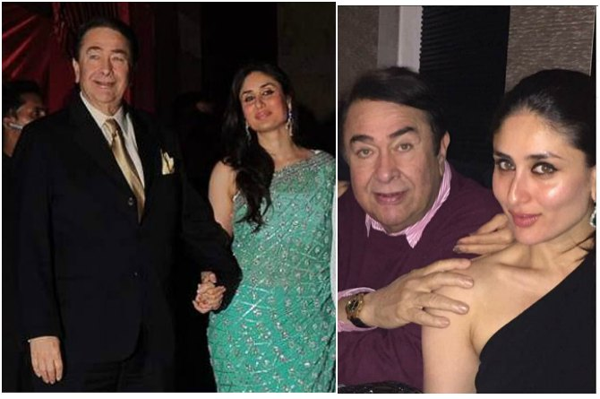 Kareena and Randhir Kapoor