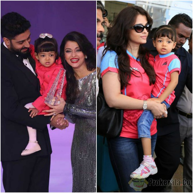 Because Aaradhya is centre point of all her talks