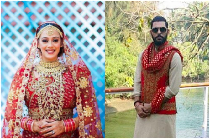 Amazing pictures from Yuvraj and Hazel's second wedding ceremony