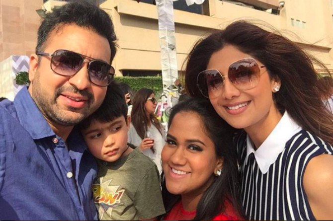 Shilpa Shetty came with her family