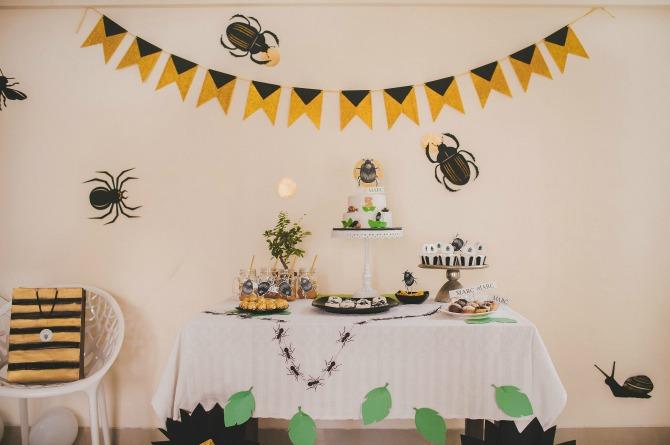 These bug-themed birthday party pics would make you just go WOW!!!