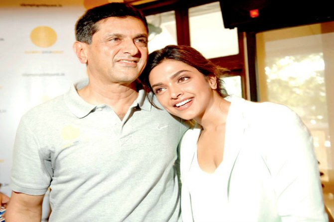 Deepika's family lives in Bangalore