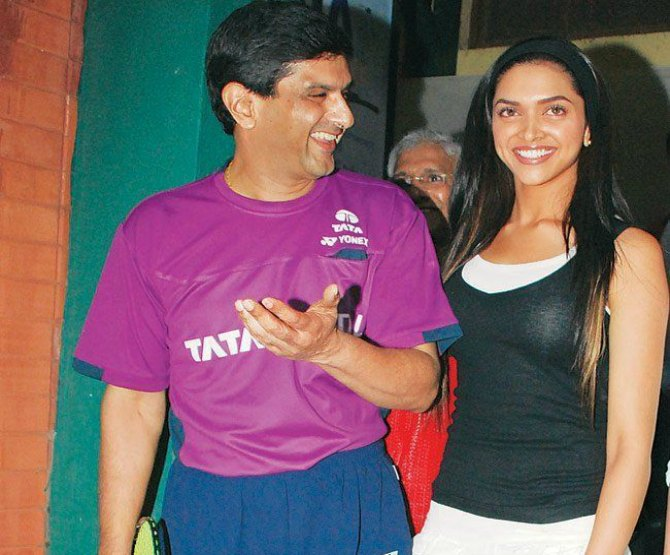 Deepika's younger sister Anisha is a golf player