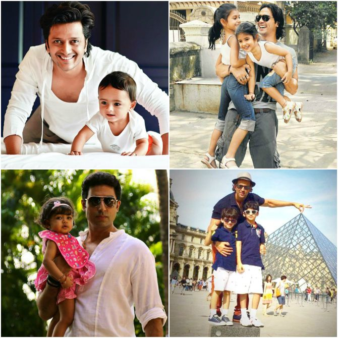Bollywood hunks are changing our notions of parenthood