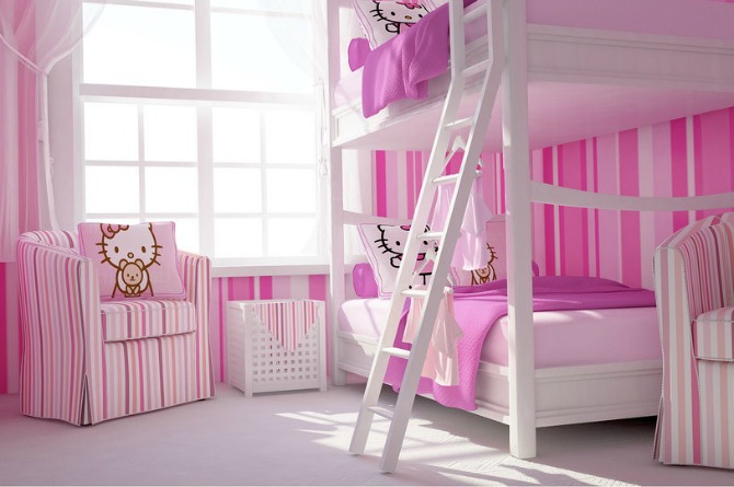 Who didn't dream of having bunk beds as kids, right?