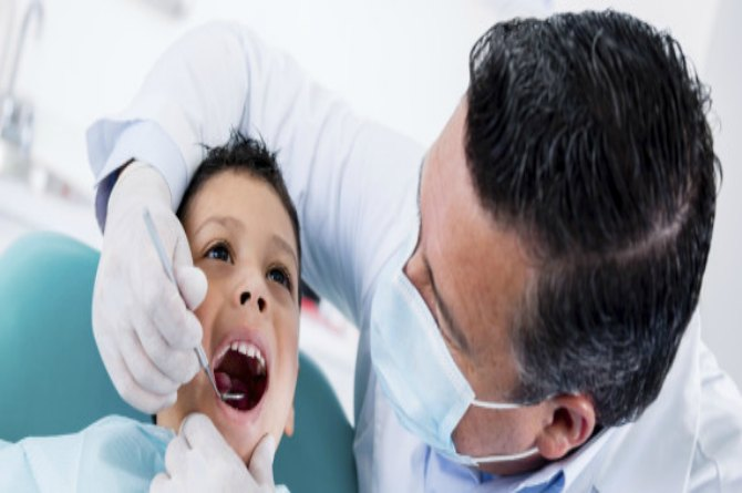 Making the first dentist appointment
