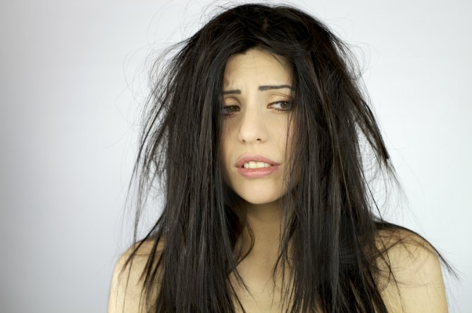 Does your hair resemble a broom?