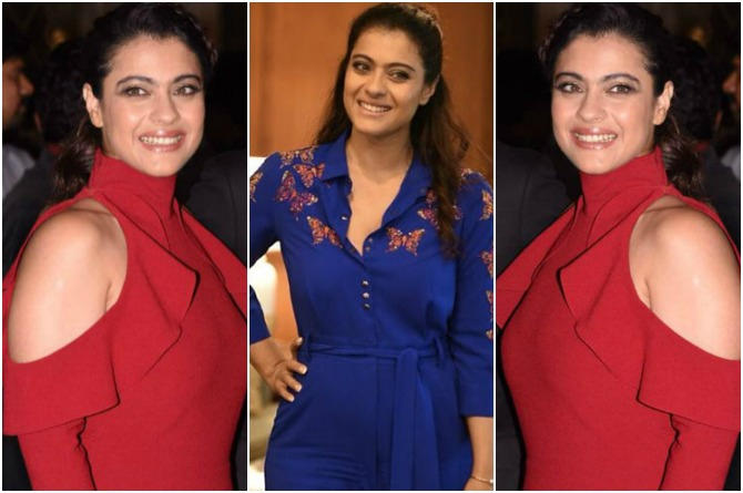 In Pics: A Visibly Slimmer Kajol Is Silencing Her Fashion Critics With Her Sartorial Choices