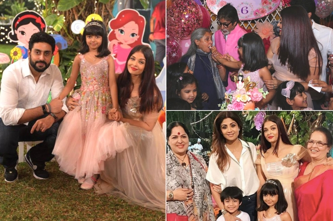 In pics: Aaradhya's birthday bash was straight out of a fairy tale