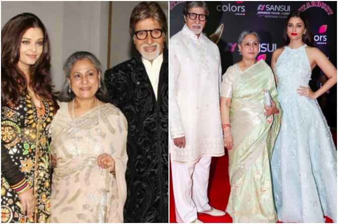Aishwarya's relations with the in-laws