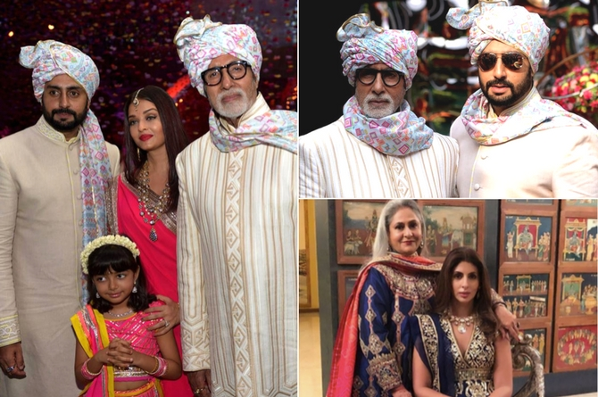 In pics: Abhishek and Aishwarya welcome one more 'beti' into the Bachchan family