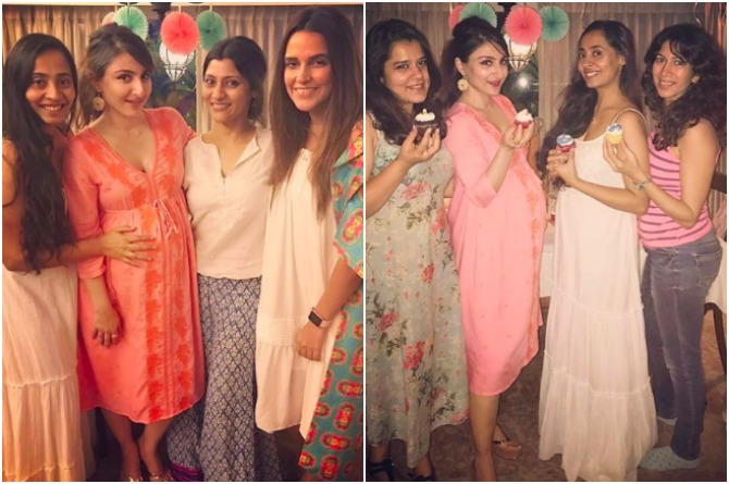 Friends and family shower Soha with love