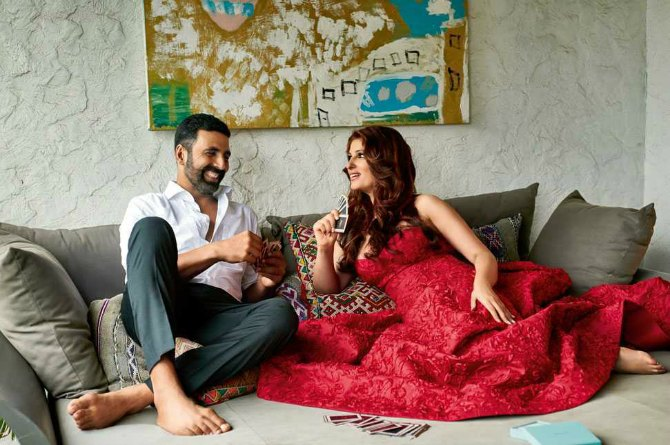 Twinkle and Akshay's favourite spot