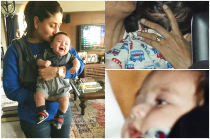 Kareena takes Taimur out for a lunch date with Aunty Amruta