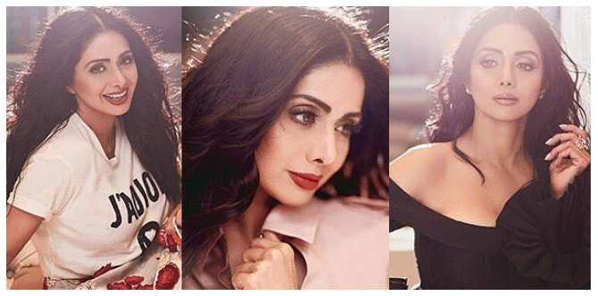In Pics: Drop dead gorgeous Sridevi shows you how to look 30 at the age of 53!