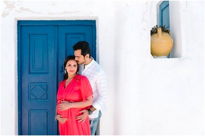 Esha Deol's maternity style is all about femininity