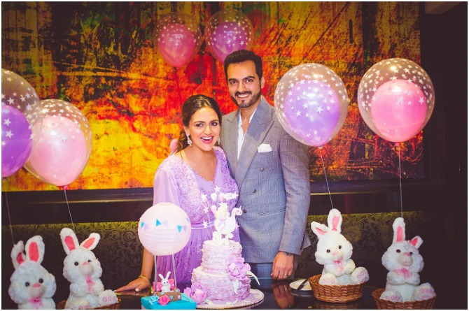 In pics: Esha Deol's sister surprises her with a fun baby shower