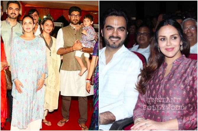 Esha attending many events off late