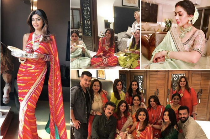 In pics: Here's how Bollywood bahus celebrated Karvachauth