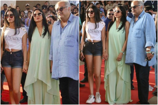 Sridevi came with daughter, husband and Amar Singh!