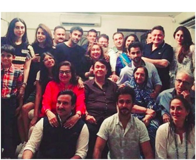 The Great Kapoor family reunion