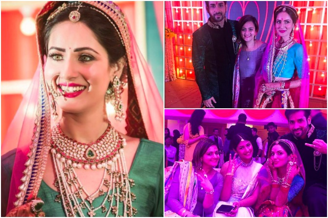 Puja gets engaged in a star-studded ceremony