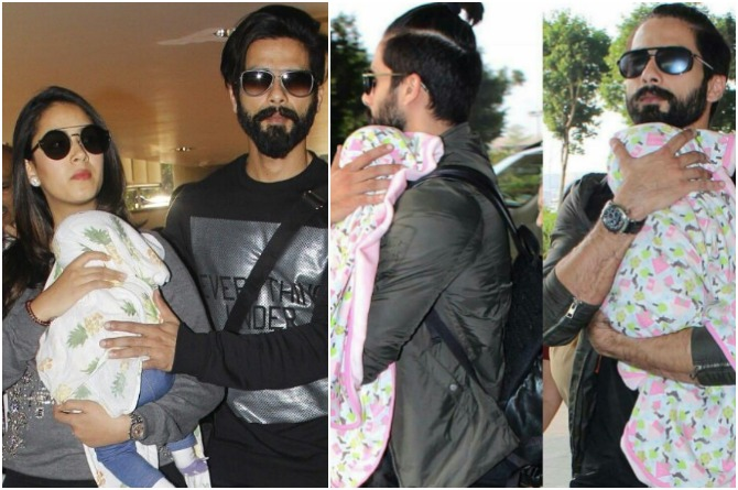 Misha Kapoor's brought home by parents
