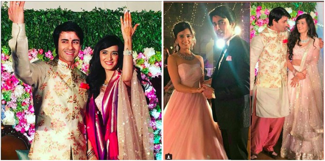 In Pics: TV hottie Gautam Rode gets engaged to Pankhur Awasthi's in Alwar