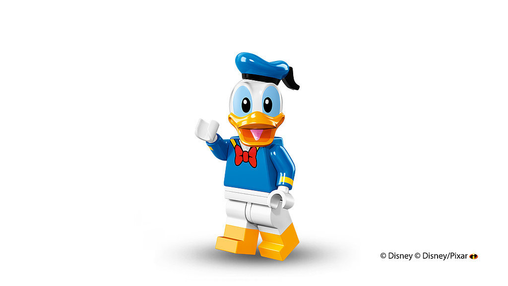 Classic beloved character Donald Duck has also been reimagined in LEGO form