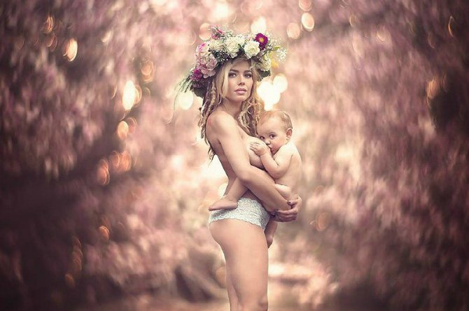 LOOK: 'Breastfeeding Goddesses' celebrate the ethereal beauty of motherhood