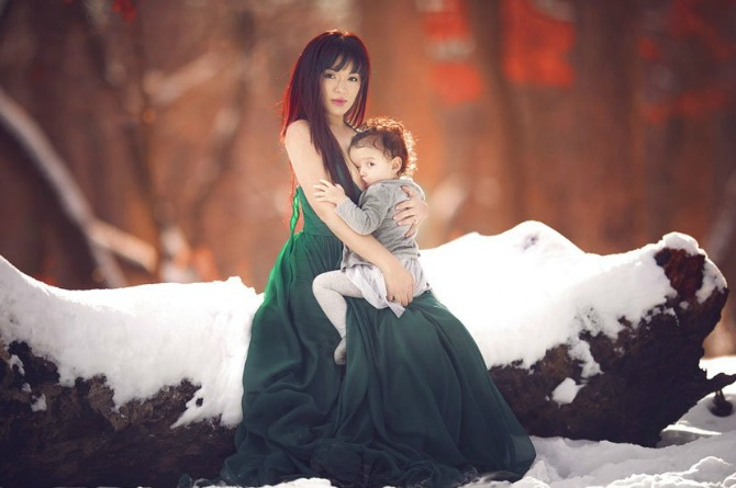 No matter the season or circumstance, a mother's love prevails