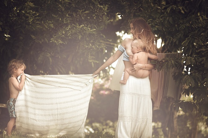 Photographing mothers is her passion