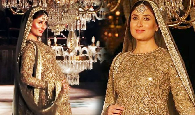 In Pics: Pregnant Kareena Kapoor looks a dream as she flaunts her bump on the ramp
