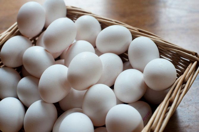 Protein-packed eggs