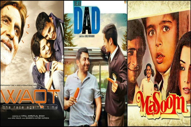 Ten Bollywood films based on a father-son relationship