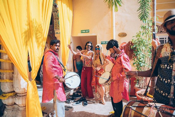 This Indian Chinese music-themed wedding fest was one-of-a-kind!