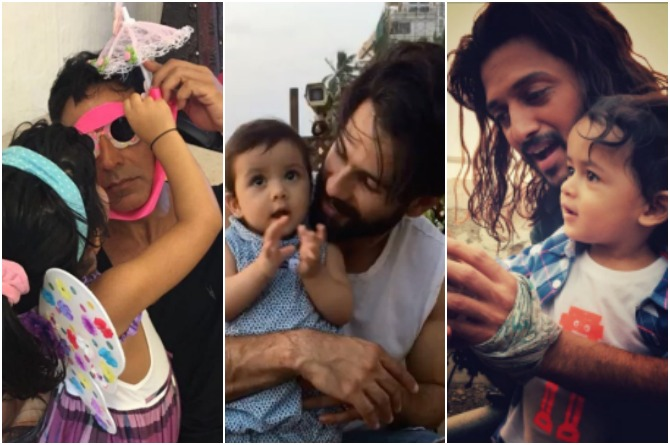 These 5 famous dads will do anything to humour their kids
