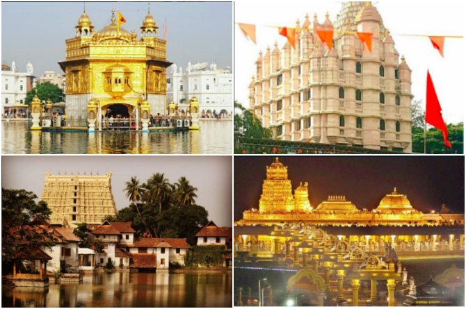 These are the 10 richest temples of India