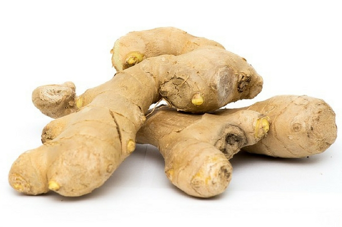 Ginger powder reduces fat absorption