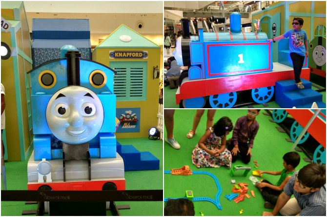 Thomas and his steam team wows one and all on Children's Day!