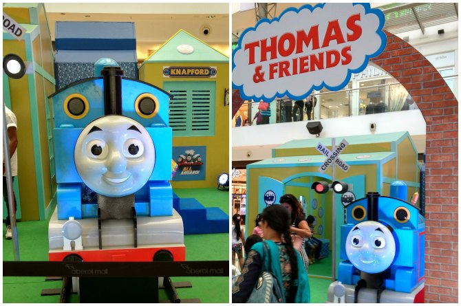 Thomas the engine has everyone enthralled!