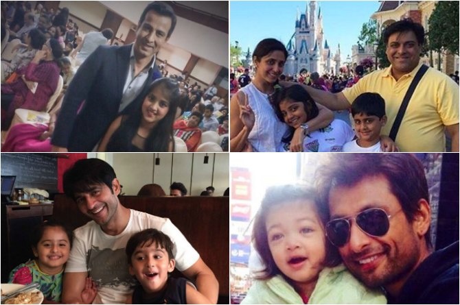 These handsome TV dads with their little ones will steal your hearts!